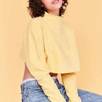 Silence + Noise Kira Crop Pullover Sweatshirt - Urban Outfitters