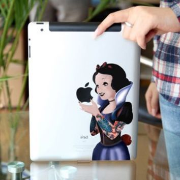 Top Decal Wicked Princess - Apple iPad 2 Sticker/iPad 3 Decal / new ipad Decal Sticker Tablet Avery Skin Cover Art Decal Sticker Partial Protector Accessories