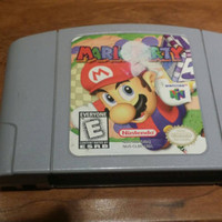 Sale FREE SHIPPING Mario party 1 - Nintendo 64 n64 system console game super  gift geeky gamer
