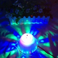 Glovion 2 in 1 Audio Music Player LED Stage Lamp Wall Ceiling Stage Disco Dance Lamp with Built-in Bluetooth Speaker White