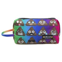 POOP EMOJI COSMETIC BAG