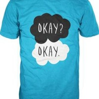 John Green Fault In Our Stars Adult Turquoise T-Shirt - L/XL