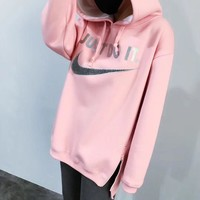 NIKE Women Fashion Hoodie Top Sweater Pullover-1