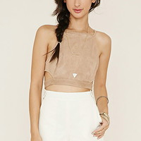 Buttoned-Strap Shorts