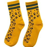 Cheetah Love Athletic Socks