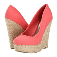 Madden Girl Thicke Coral Canvas - Zappos.com Free Shipping BOTH Ways