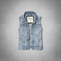 Christa Denim Vest