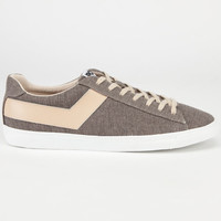 Pony Topstar Mens Shoes Medium Grey/Natural  In Sizes
