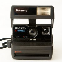 Polaroid OneStep 600 Flash Close Up Instant Film Camera