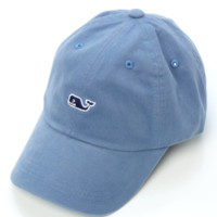 Vineyard Vines Signature Whale Logo Baseball Hat- Slate