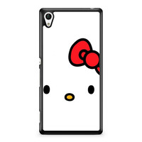 Cartoon Hello Kitty Sony Xperia Z4 Case