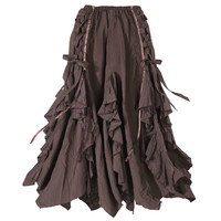 Ribboned Bark Skirt - Women's Clothing & Symbolic Jewelry – Sexy, Fantasy, Romantic Fashions