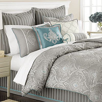 Martha Stewart Collection Bedding, Briercrest 9 Piece Comforter Set - Bed in a Bag - Bed & Bath - Macy's