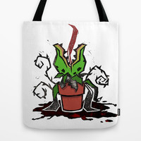 Audrey Two, Little Shop of Horrors. Tote Bag by Terry Blas | Society6