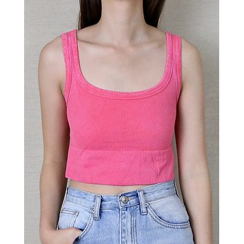 Vanessa Vintage Chevron Crop Top in More Colors