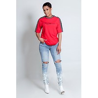 Unisex The Difference T Shirt- Red