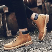 Hot Deal On Sale Men Training Dr. Martens England Style Casual Boots [257819148317]