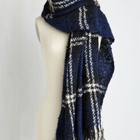 Dusk at the Drive-In Scarf in Onyx by ModCloth