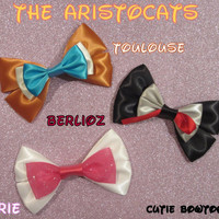 ONE  Aristocats Kittens Hair Bow Disney Inspired