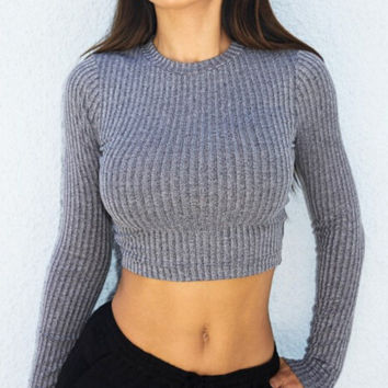 Sexy ladies sweater Tops [9073801606]