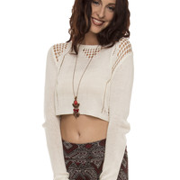 Mallory Crop Top Sweater