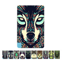Unique Texture Animal Elephant Pattern Portable Ultra Thin Card 2600mAh Power Bank Battery Charger power For Android phone