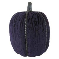 Halloween Hand-Wrapped Fabric Pumpkins Large Purple - Hyde and Eek! Boutique™