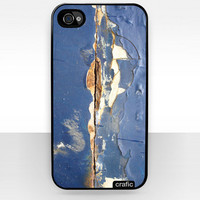 Blue Cracked iPhone 4 Case  - iPhone 4s Case