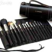 iOffer: 16pcs Professional MAC Makeup Brushes Set with pu case for sale