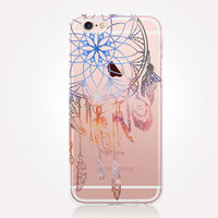 Transparent DreamCatcher Phone Case - Transparent Case - Clear Case - Transparent iPhone 6 - Transparent iPhone 5 - Transparent iPhone 4