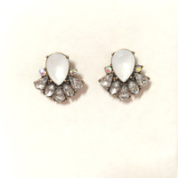 Heiress Crystal Stud Earrings