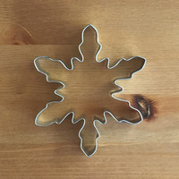 Large Snowflake Cookie Cutter 5""