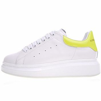 "Alexander McQueen sole ""White&Yellow"" sneakers"