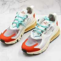 Nike Air Max 270 React White/ Red Sneakers - Best Online Sale