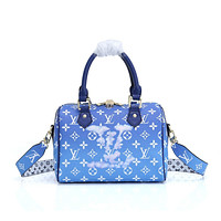 LV Louis Vuitton MONOGRAM ESCALE CANVAS SPEEDY 25 HANDBAG TOTE BAG