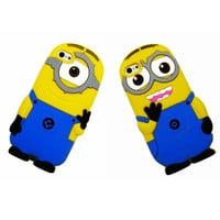 For iPhone 5c 3D Despicable Me Minions Soft Silicone case cover