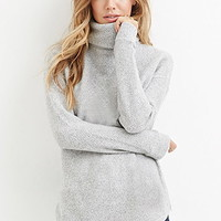 Loop Knit Turtleneck Sweater
