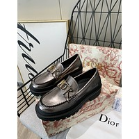 dior fashion men womens casual running sport shoes sneakers slipper sandals high heels shoes 261
