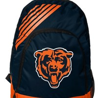 Chicago Bears BackPack Back Pack Book Sports Gym School Bag New Border Stripe