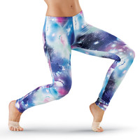 Galaxy Print Dance Leggings - Urban Groove