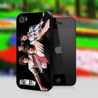 All Time Low Skull - Print On Hard Cover For iPhone 4,4S