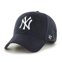 MLB New York Yankees Youth '47 Basic MVP Adjustable Hat, Home Color