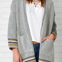 Cupshe Ease the Day Ethnic Knitting Cardigan