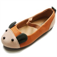 Adorable Mouse Shoes - Tan - Kawaii Kids