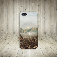 Mountains and Meadows Case for iPhone 5 iPhone 5S iPhone 4 iPhone 4S and Samsung Galaxy S5 S4 & S3