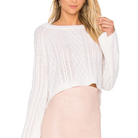 ThePerfext Ella Knit Top in Chalk | REVOLVE