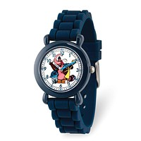Disney Girls Inside Out Navy Silicone Band Time Teacher Watch