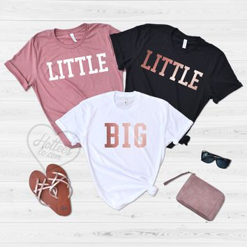 Big and Little Sorority Sister Shirts