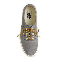Vans® for J.Crew washed canvas authentic sneakers - sneakers - Women's shoes - J.Crew