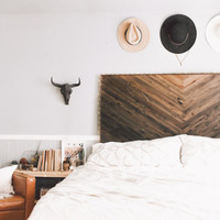 Ombre Wooden Headboard